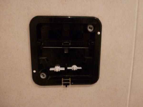Beroemd Toilet wisa drukknop werkt niet meer IF62