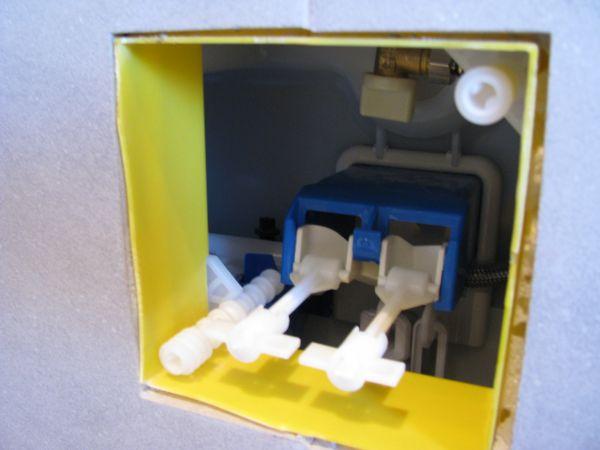 Bekend Toilet wisa drukknop werkt niet meer HI24