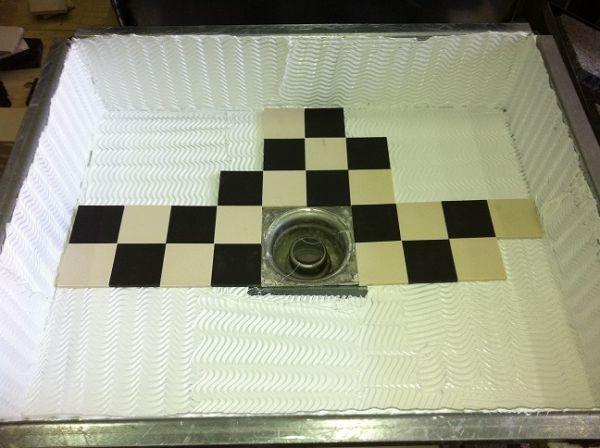 Kleine tegels (5cm x 5cm) snijden of zagen?
