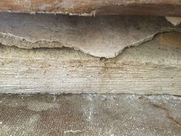 asbest platen tegen binnen muur. Black Bedroom Furniture Sets. Home Design Ideas