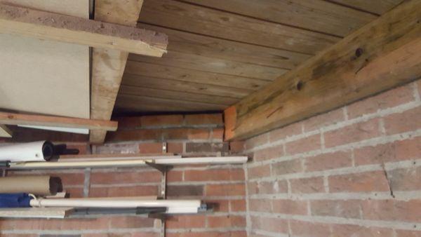 Geliefde Plat dak garage afwerken binnenzijde IT25
