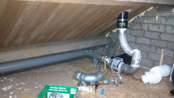 Condens probleem ventilatie