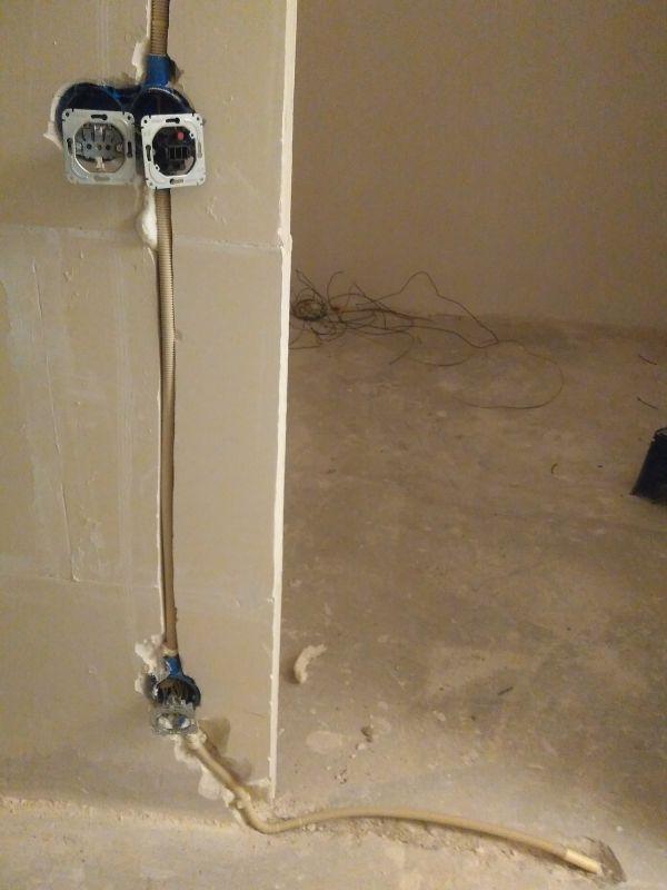 Opvullen waterdicht stuc (Ardex 950)