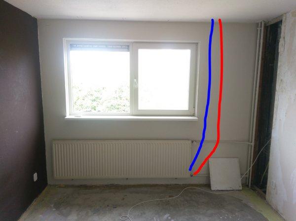 Populair Radiator Leidingen Wegwerken II62