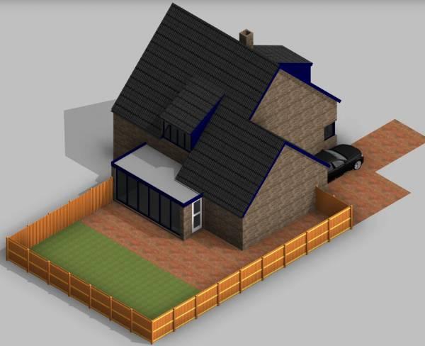 Zeer Aanbouw zetten aan het huis; welke werkzaamheden? JM92