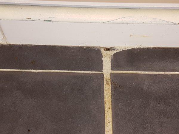 Tegels badkamer plaatsen sydati witte voegen in badkamer laatste design u multiplex voor - Badkamer tegel cement ...