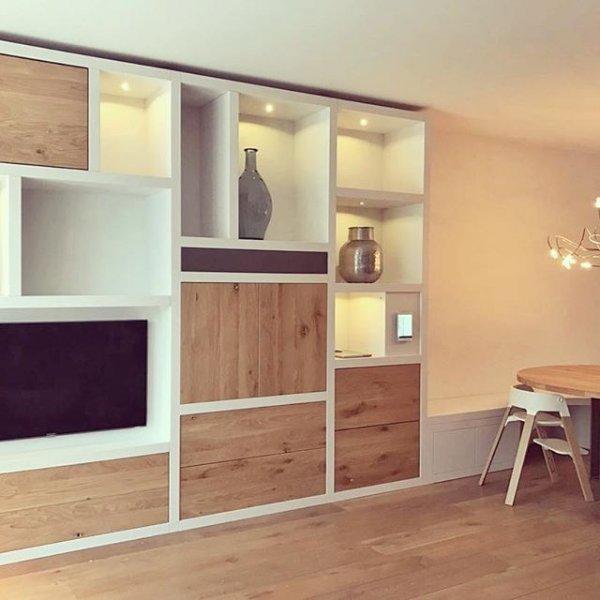 Hoe en wat voor functioneel wandmeubel woonkamer for Tv wandkast