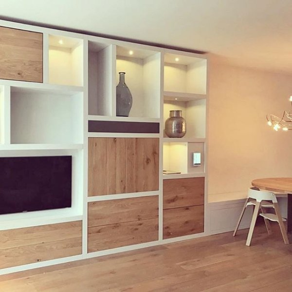 Hoe en wat voor Functioneel wandmeubel woonkamer