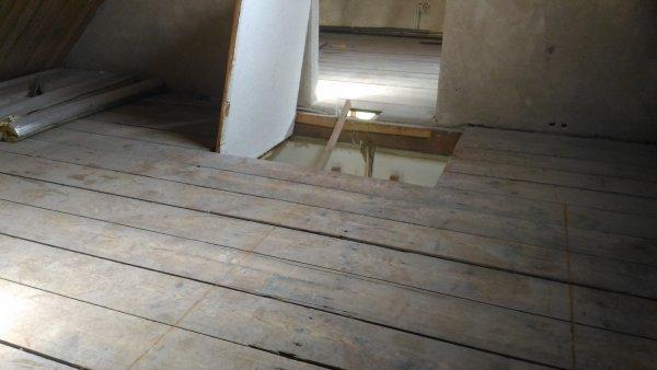 Houten vloer zolder
