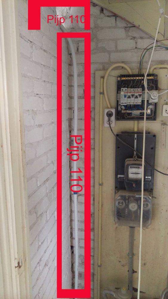 Graag advies aub over leidingen/afvoer badkamer