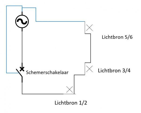 Top LED GU10 buitenverlichting knippert JH92