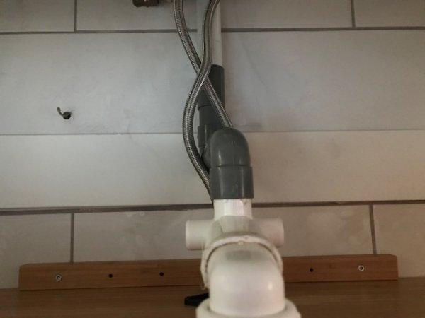 Rioollucht nieuwe badkamer.