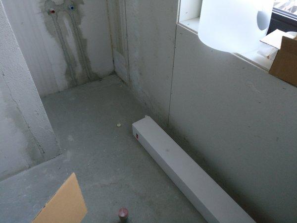 Ombouw bad met wedi plaat. Advies