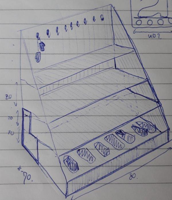 Mdf Of Multiplex Voor Grote Lade Onder Kast