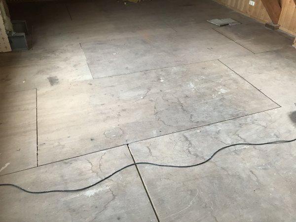 Houten Vloer Veert : Zolder vloer verstevigen