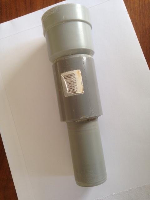 60mm afvoer keuken ikea, Badkamer