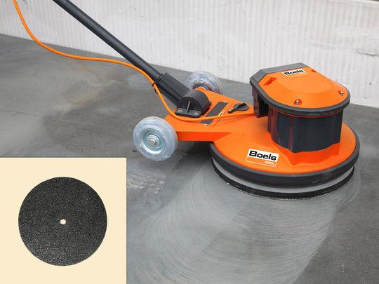 Extreem Lijmresten vloerbedekking verwijderen van cement dekvloer DW56