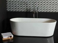 Half Vrijstaand Bad : Vrijstaand bad half inbouwen