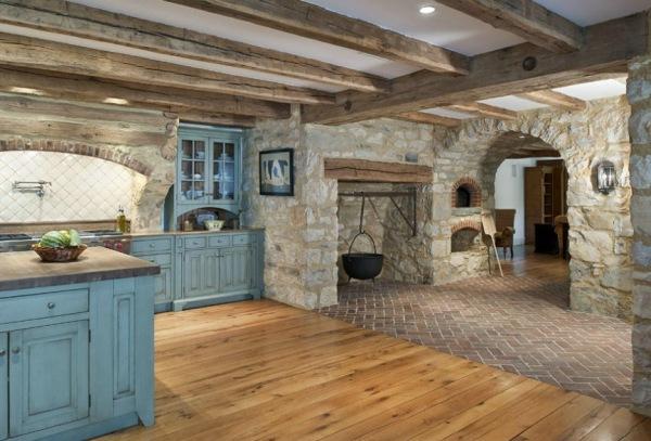 Plafondbalken plaatsen for Gips decor ceiling
