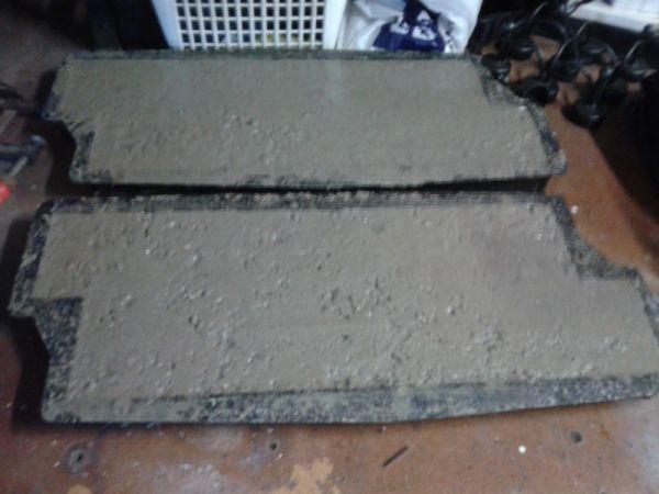 Vaak Beton mallen gebruiken ( doe het zelf ) @QG48