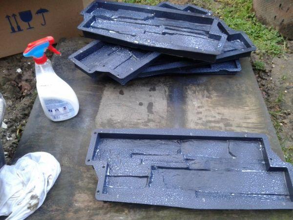 Vaak Beton mallen gebruiken ( doe het zelf ) #EA05