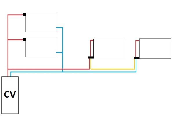 Radiator In Serie Aansluiten.Radiator Serieel Op Parallel Aansluiting Mogelijk