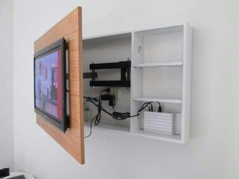 Wand En Tv Meubel.Draaibare Tv Wand
