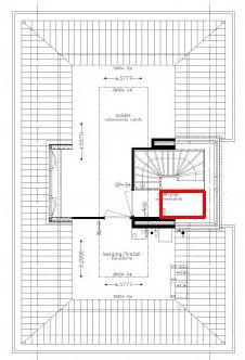 Toilet op zolder mogelijk for Vaste trap ipv vlizotrap