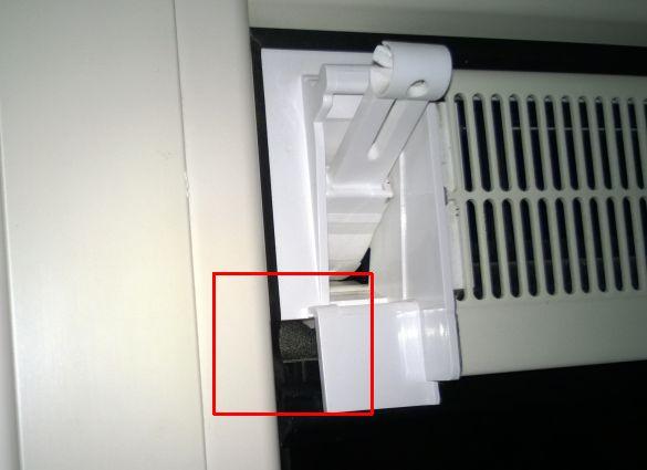 Populair Tocht langs ventilatierooster, ook als deze gesloten is VV83