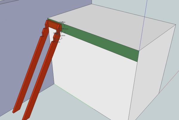 Buitentrap los van muur bevestigen - Hoe een trap te kleden ...