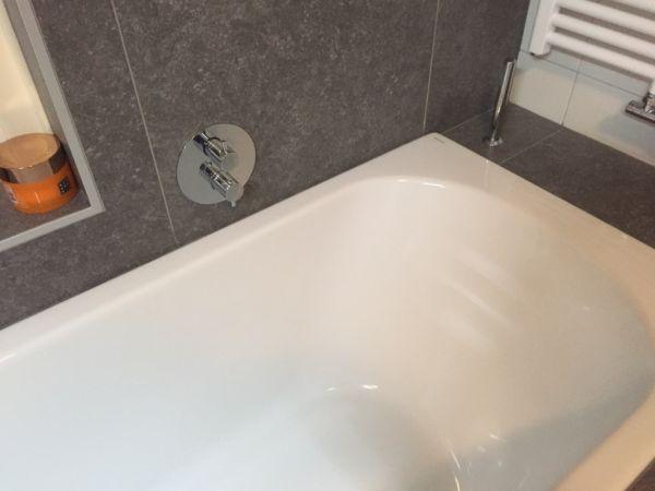 Inloopdouche Met Badkraan : Probleem: niet heet worden van water in nieuwe inloopdouche