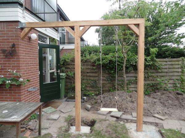 Tuinhuis tuinhuis vastzetten : Schommel maken