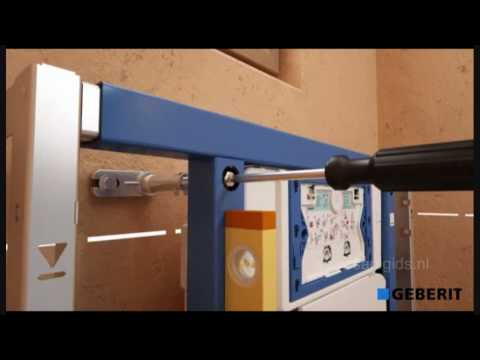 Achterwand Hangend Toilet : Hangend toilet beweging in constructie