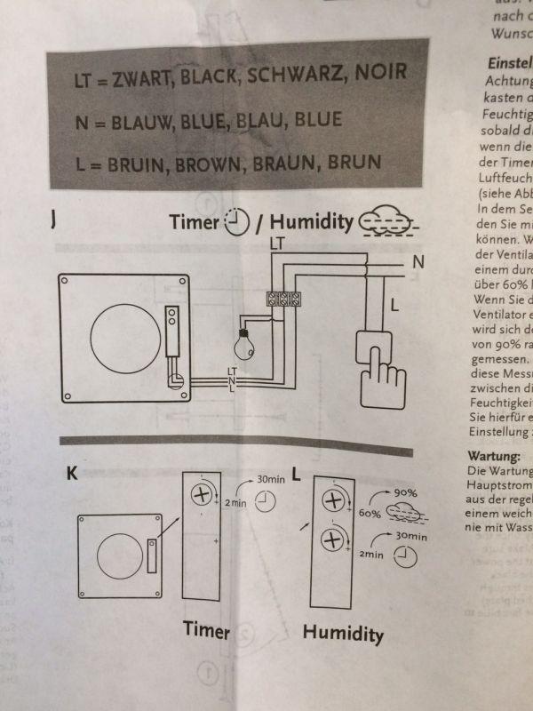 Aansluiten Badkamer Ventilator