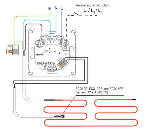 Elektrische vloerverwarming - weinig weerstand