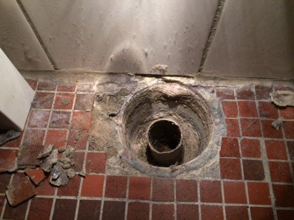 Afvoer Douche Aansluiten : Afvoer putje in betonvloer aansluiten hergebruik