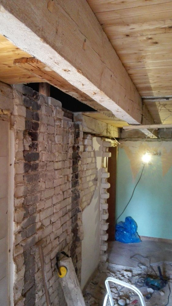 New Houten badkamerplafond isoleren TF37