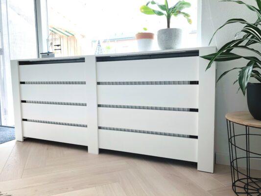 Materialen die u nodig heeft voor de radiator ombouw