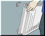 radiator-ophangen